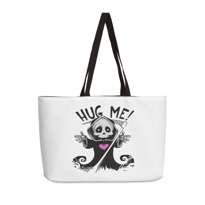 Hug Me! Accessories Weekender Bag Bag by forestmoonparanormal's Artist Shop