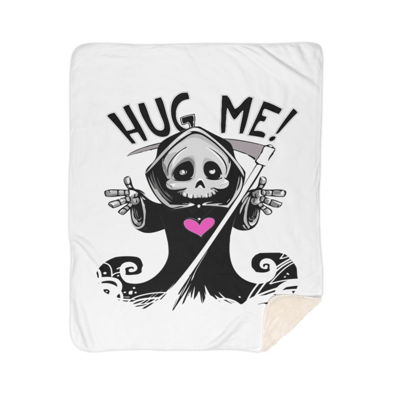 Hug Me! Home Sherpa Blanket Blanket by forestmoonparanormal's Artist Shop