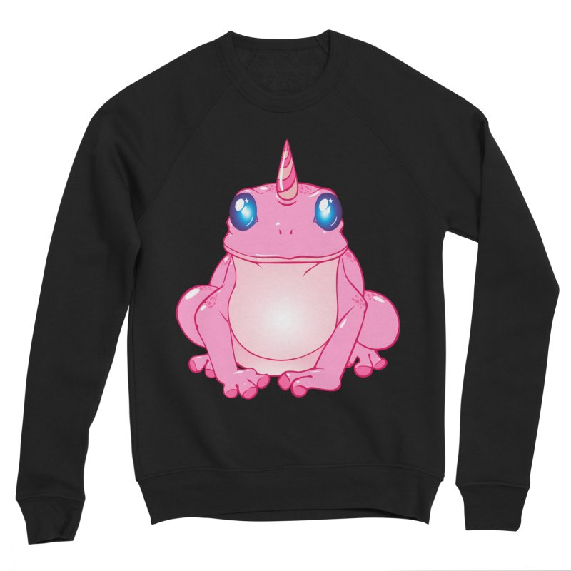 Frogicorn Men's Sponge Fleece Sweatshirt by forestmoonparanormal's Artist Shop