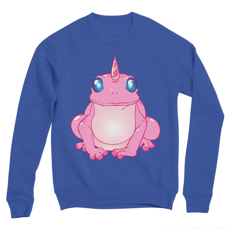 Frogicorn Men's Sponge Fleece Sweatshirt by forestmoonparanormal's Artist Shop