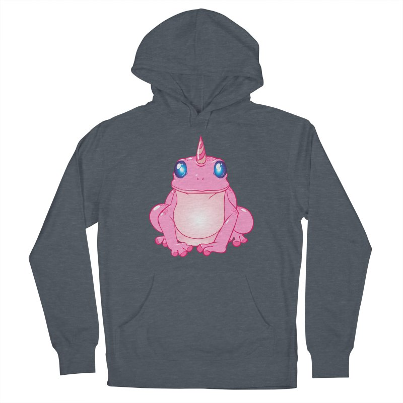 Frogicorn Women's French Terry Pullover Hoody by forestmoonparanormal's Artist Shop