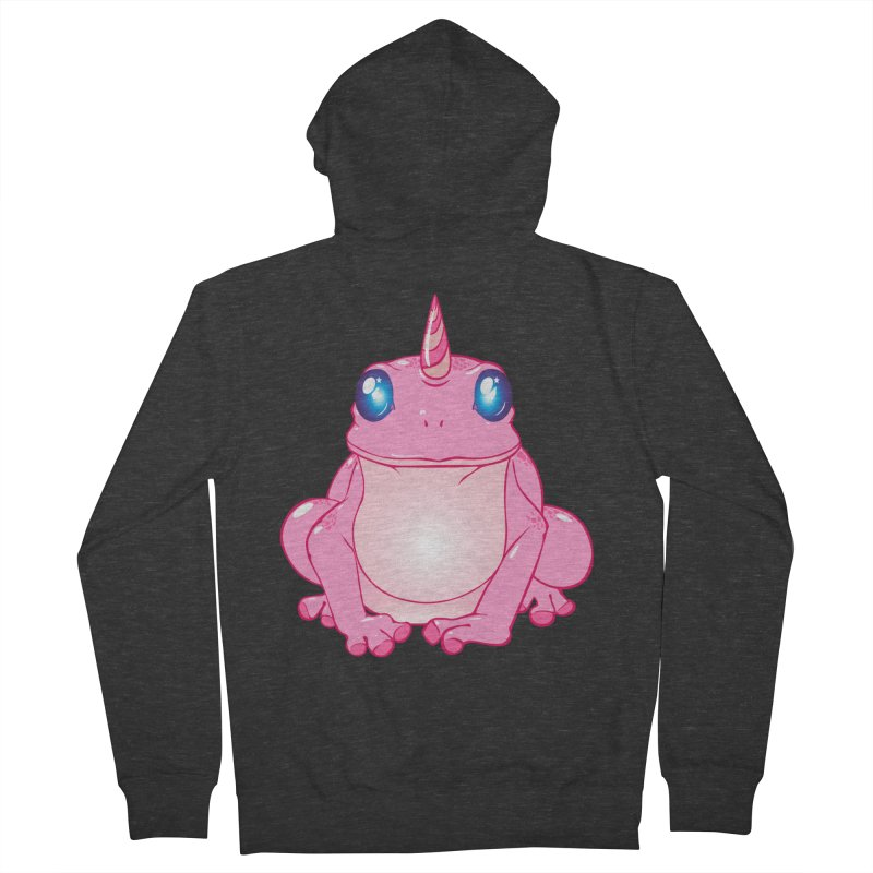 Frogicorn Women's French Terry Zip-Up Hoody by forestmoonparanormal's Artist Shop