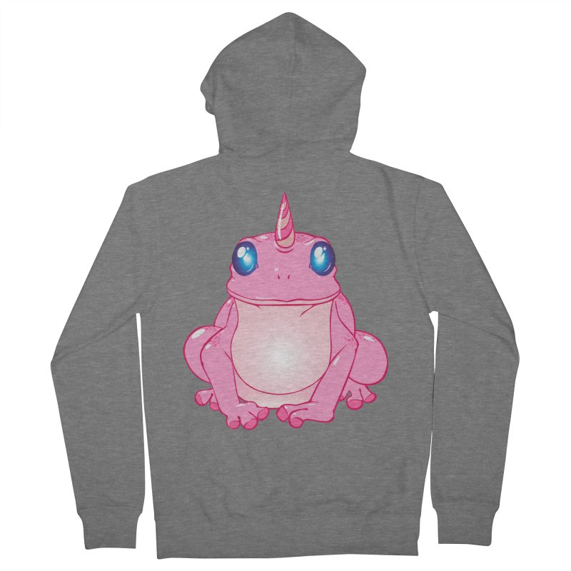 Frogicorn Men's French Terry Zip-Up Hoody by forestmoonparanormal's Artist Shop