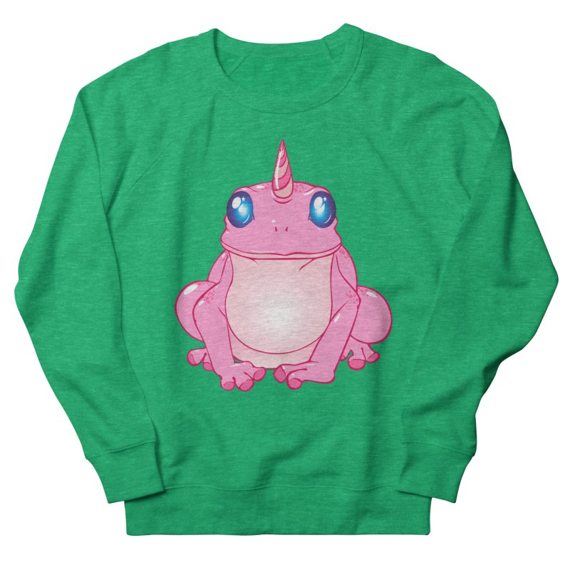 Frogicorn Women's French Terry Sweatshirt by forestmoonparanormal's Artist Shop