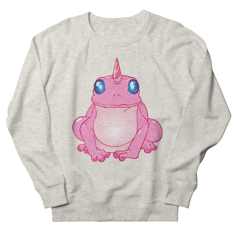 Frogicorn Men's French Terry Sweatshirt by forestmoonparanormal's Artist Shop