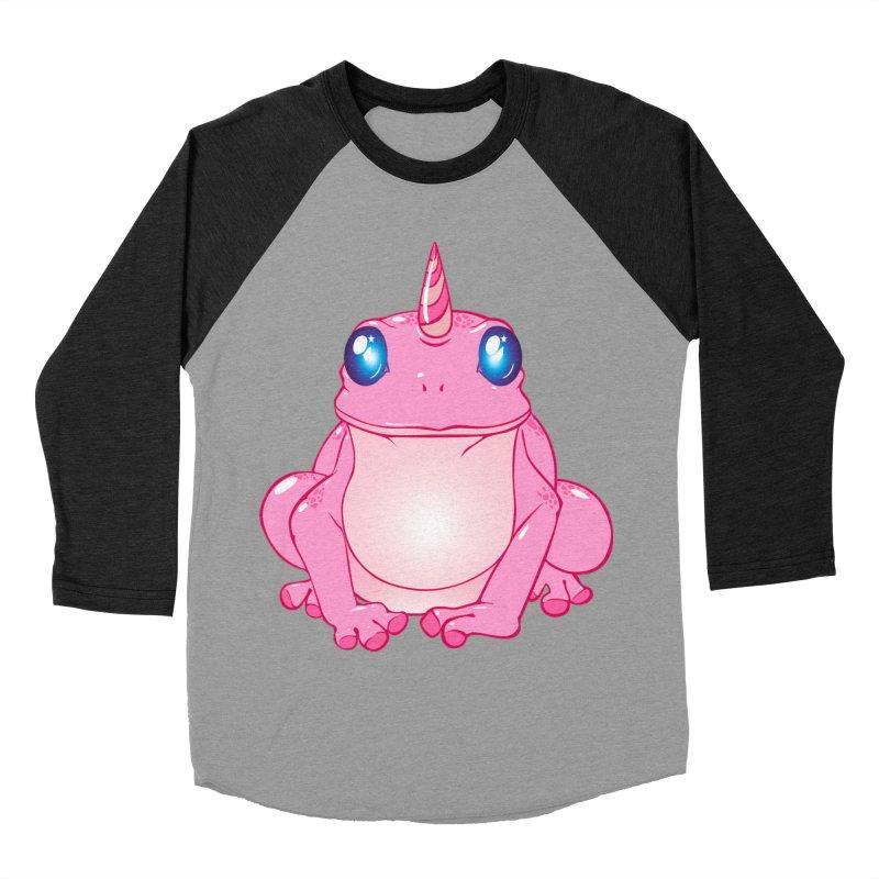 Frogicorn Women's Baseball Triblend Longsleeve T-Shirt by forestmoonparanormal's Artist Shop