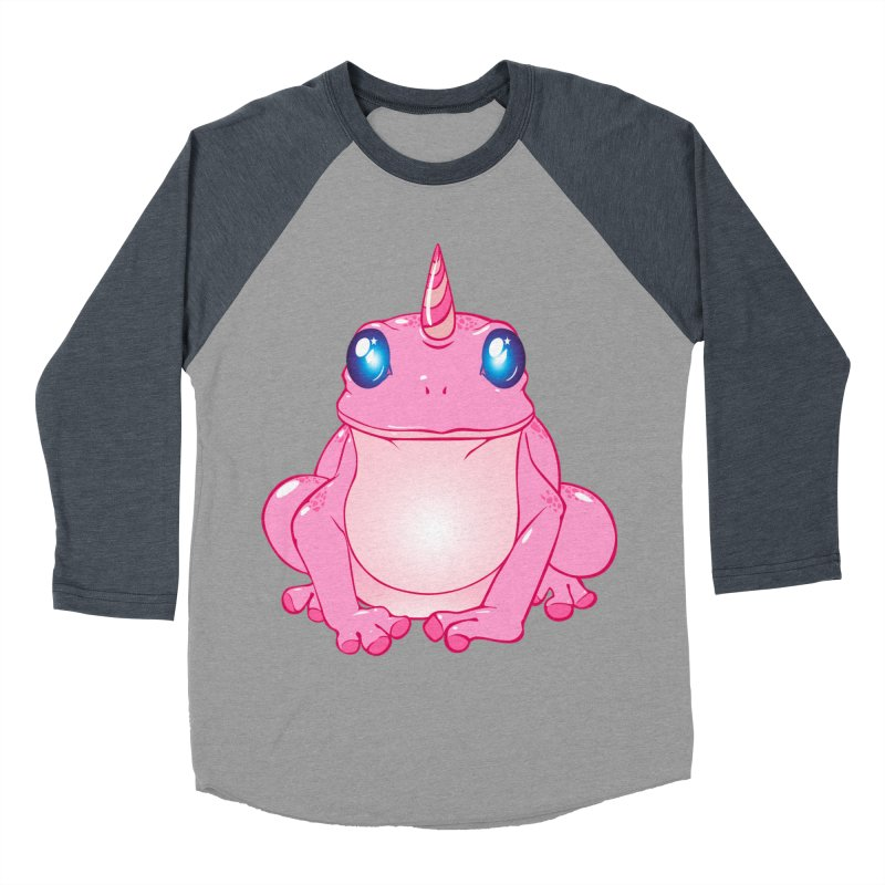 Frogicorn Men's Baseball Triblend Longsleeve T-Shirt by forestmoonparanormal's Artist Shop