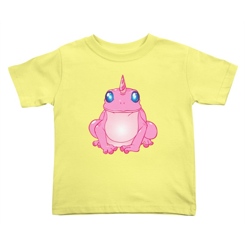 Frogicorn Kids Toddler T-Shirt by forestmoonparanormal's Artist Shop