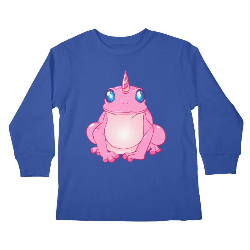 Frogicorn Kids Longsleeve T-Shirt by forestmoonparanormal's Artist Shop