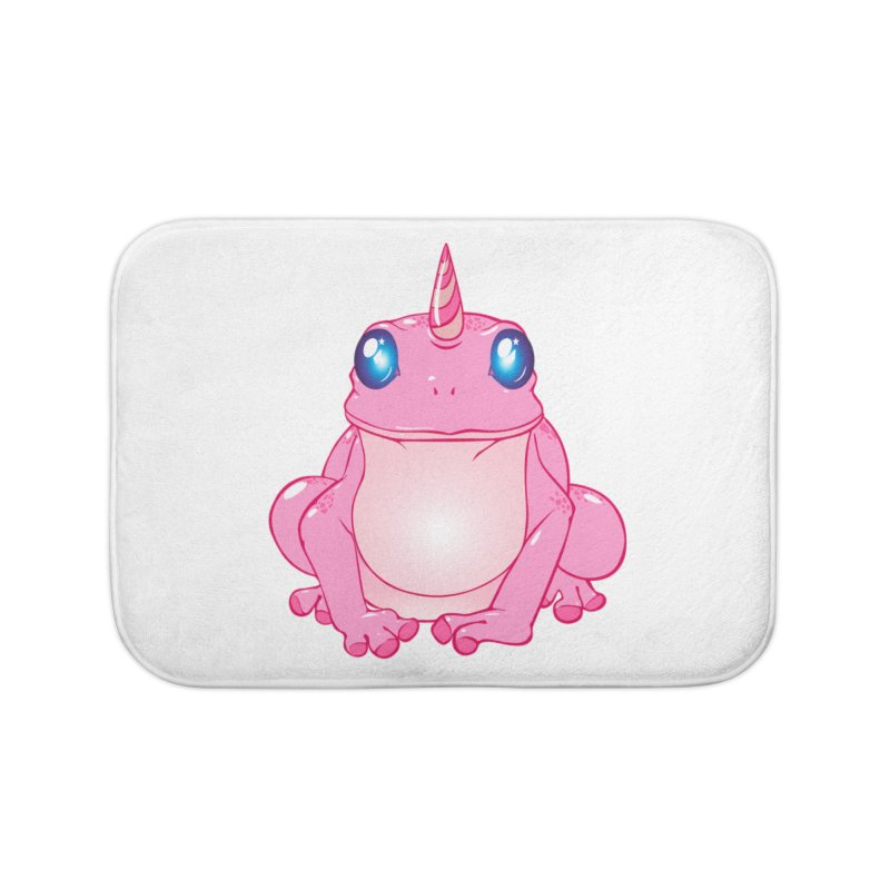 Frogicorn Home Bath Mat by forestmoonparanormal's Artist Shop