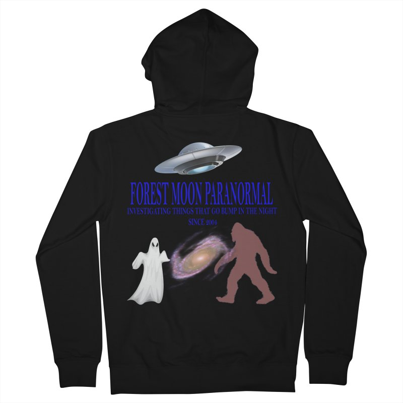 FMP SHIRT Women's French Terry Zip-Up Hoody by forestmoonparanormal's Artist Shop