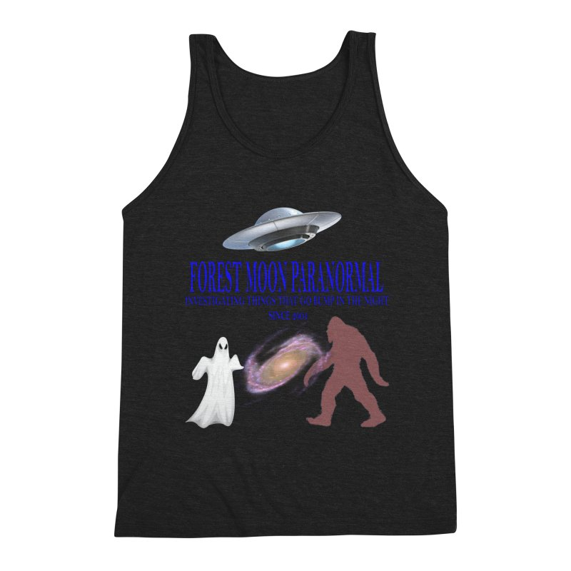 FMP SHIRT Men's Triblend Tank by forestmoonparanormal's Artist Shop