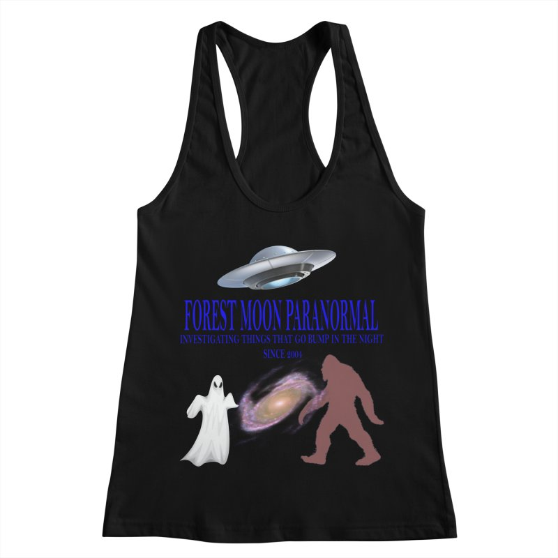 FMP SHIRT Women's Racerback Tank by forestmoonparanormal's Artist Shop
