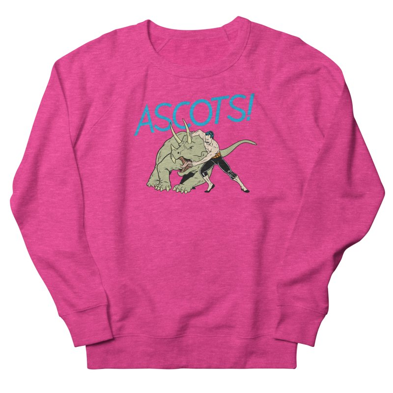 Ascots Men's French Terry Sweatshirt by forlornfunnies's haute couture