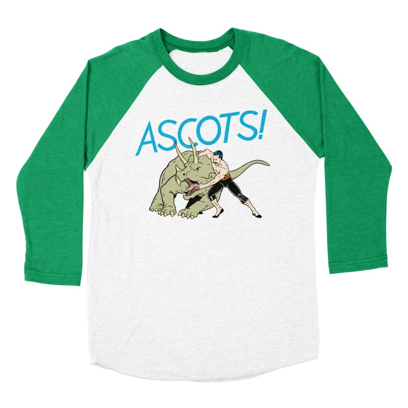 Ascots Men's Baseball Triblend T-Shirt by forlornfunnies's haute couture