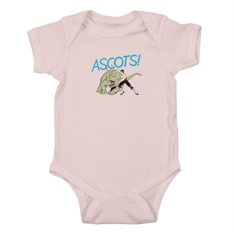 Ascots Kids Baby Bodysuit by forlornfunnies's haute couture