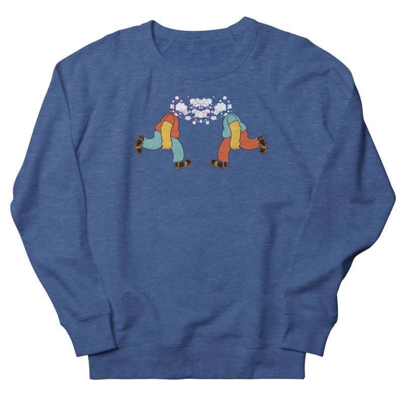 Bubblehead Men's French Terry Sweatshirt by forlornfunnies's haute couture