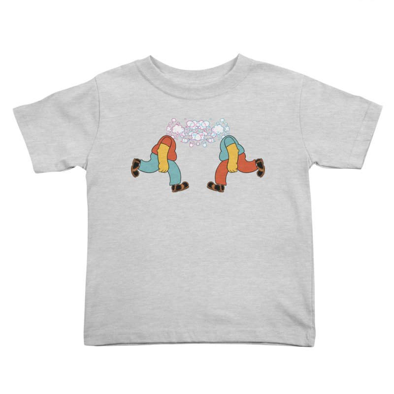 Bubblehead Kids Toddler T-Shirt by forlornfunnies's haute couture