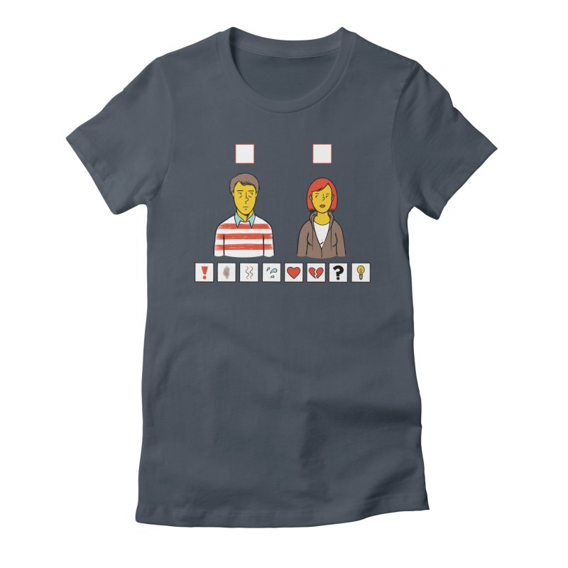 Choose Your Own Shirt Women's Fitted T-Shirt by forlornfunnies's haute couture