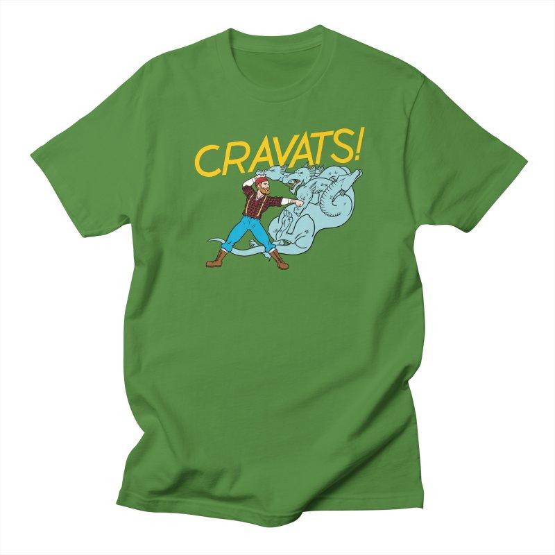 Cravats! Men's Regular T-Shirt by forlornfunnies's haute couture