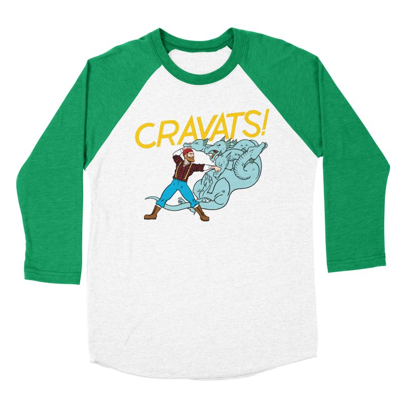 Cravats! Women's Baseball Triblend T-Shirt by forlornfunnies's haute couture