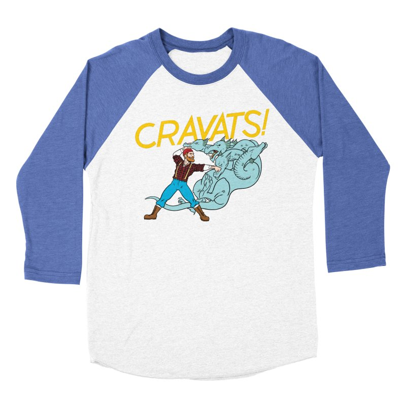 Cravats! Men's Baseball Triblend T-Shirt by forlornfunnies's haute couture
