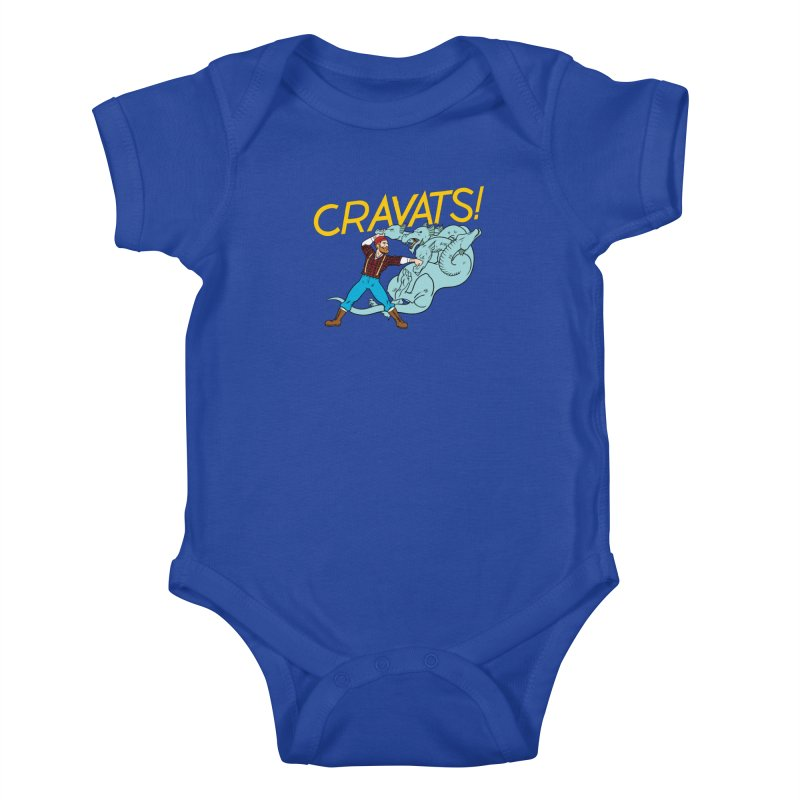 Cravats! Kids Baby Bodysuit by forlornfunnies's haute couture