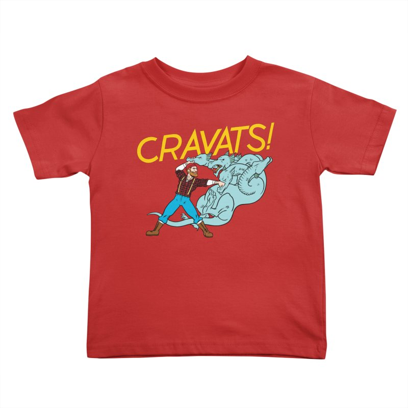 Cravats! Kids Toddler T-Shirt by forlornfunnies's haute couture