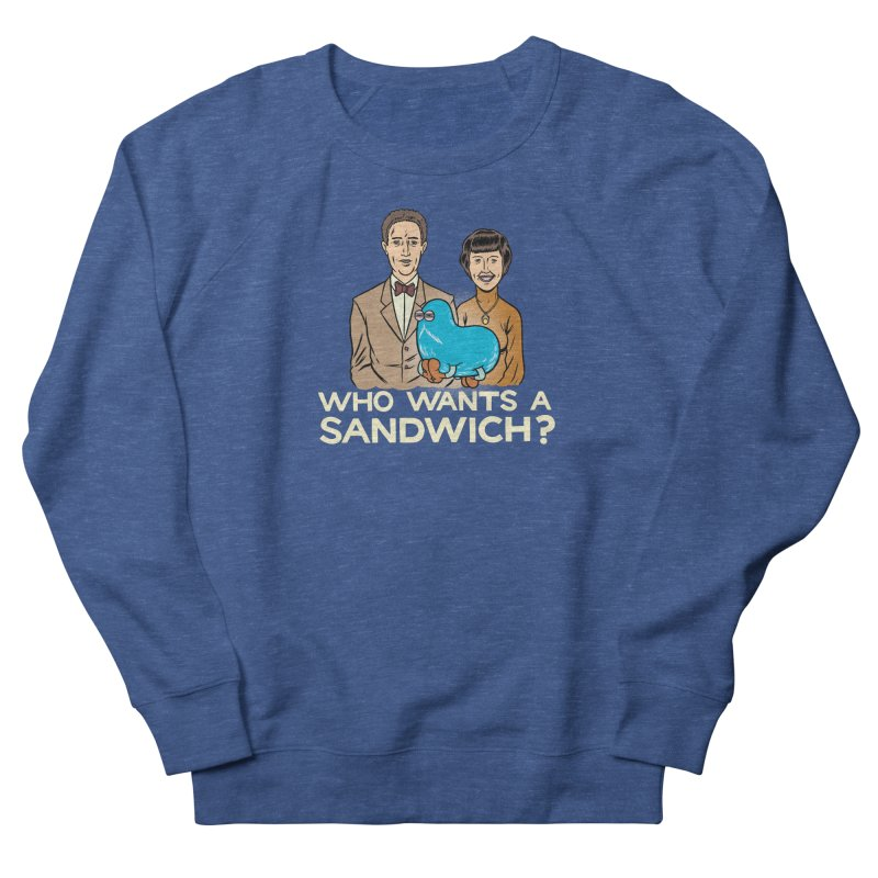 Who Wants a Sandwich? Men's French Terry Sweatshirt by forlornfunnies's haute couture