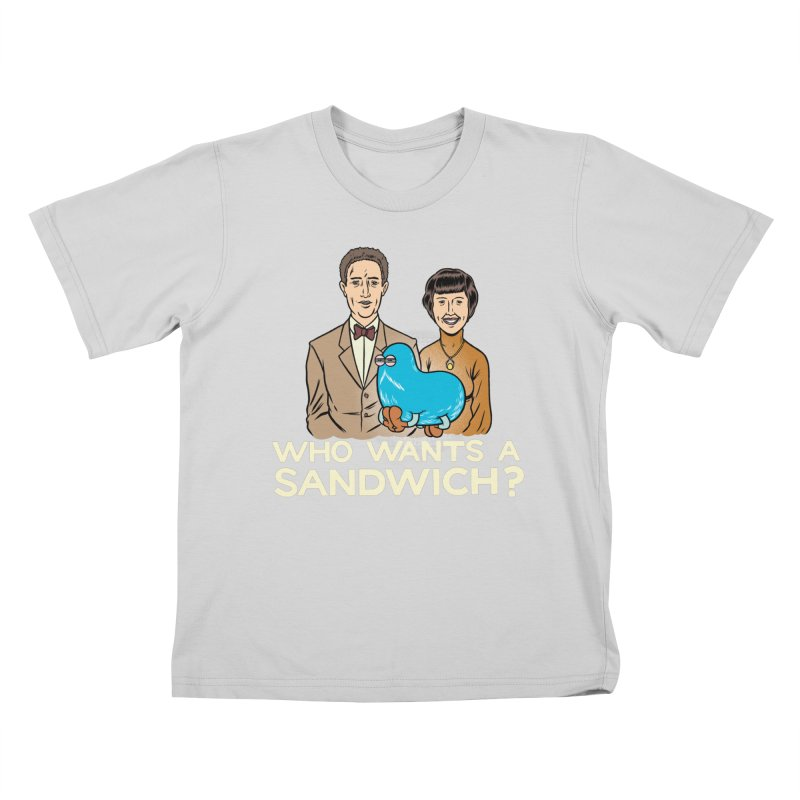 Who Wants a Sandwich? Kids T-Shirt by forlornfunnies's haute couture