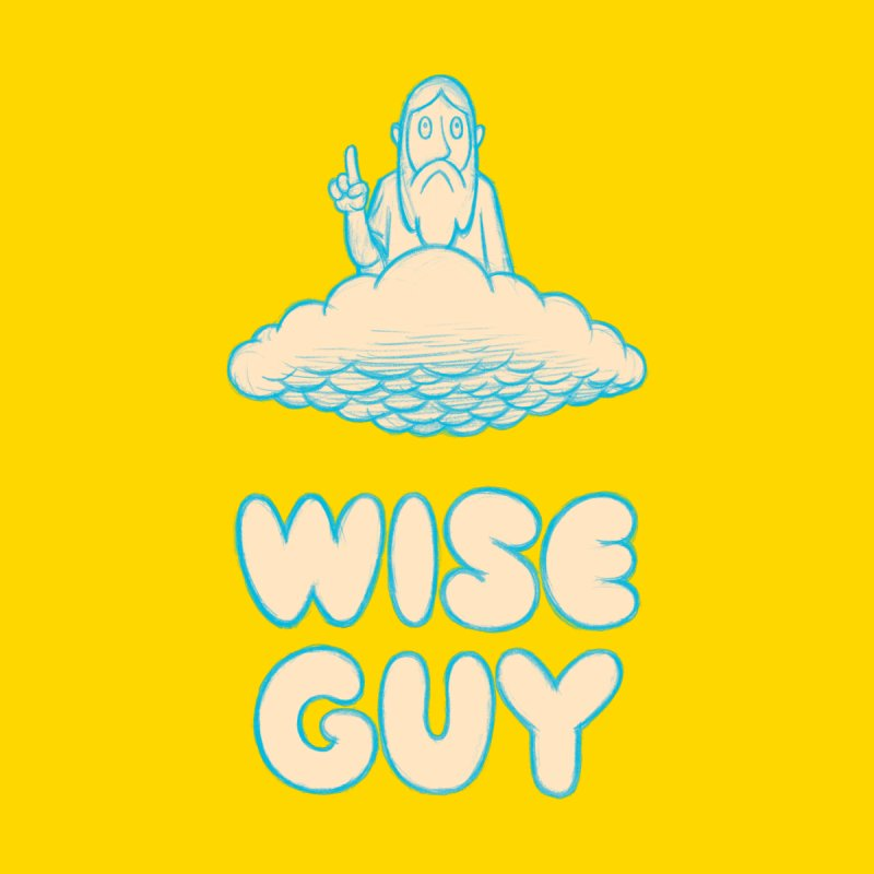 Wise Guy Men's T-Shirt by forlornfunnies's haute couture