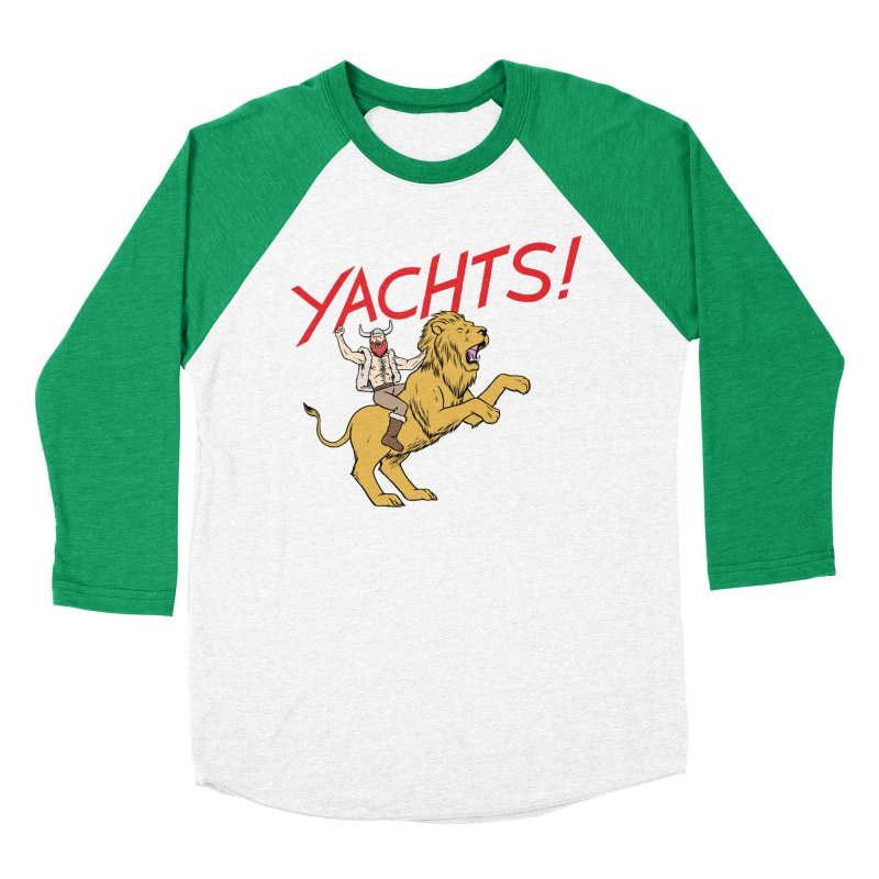 Yachts! Women's Baseball Triblend T-Shirt by forlornfunnies's haute couture