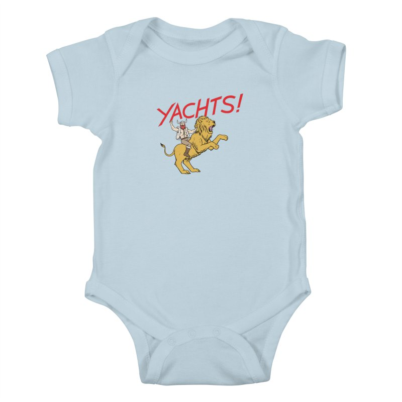 Yachts! Kids Baby Bodysuit by forlornfunnies's haute couture
