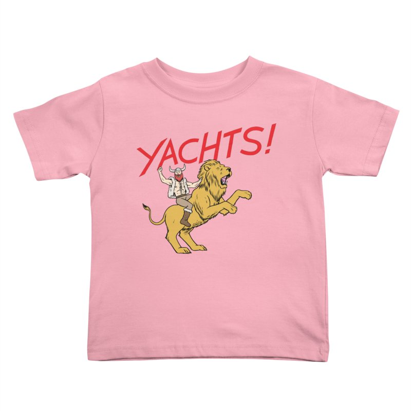 Yachts! Kids Toddler T-Shirt by forlornfunnies's haute couture