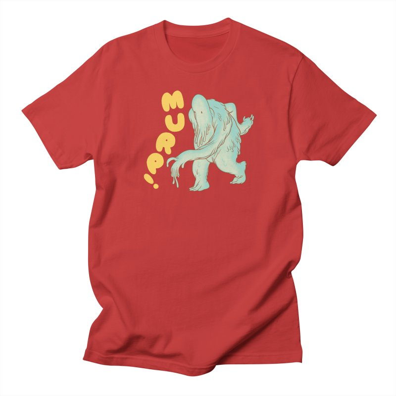 Murp! in Men's T-Shirt Red by forlornfunnies's haute couture