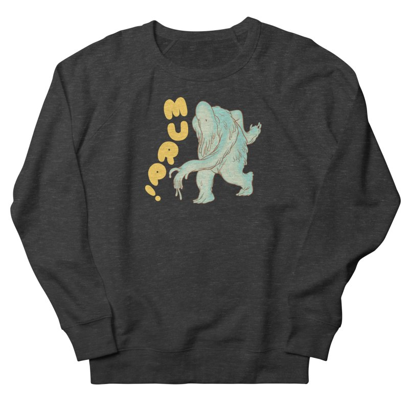 Murp! Men's French Terry Sweatshirt by forlornfunnies's haute couture