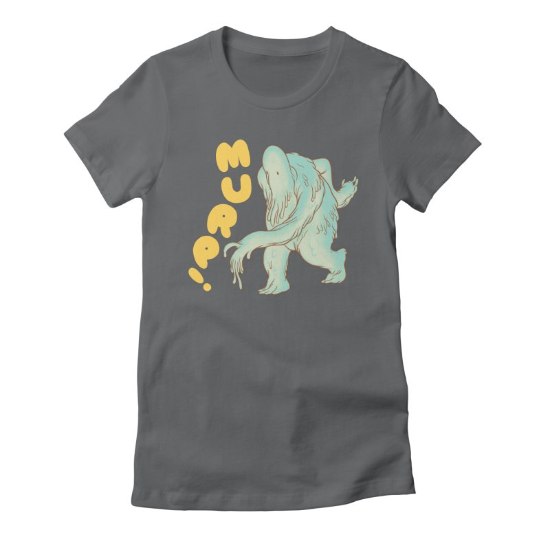 Murp! Women's Fitted T-Shirt by forlornfunnies's haute couture
