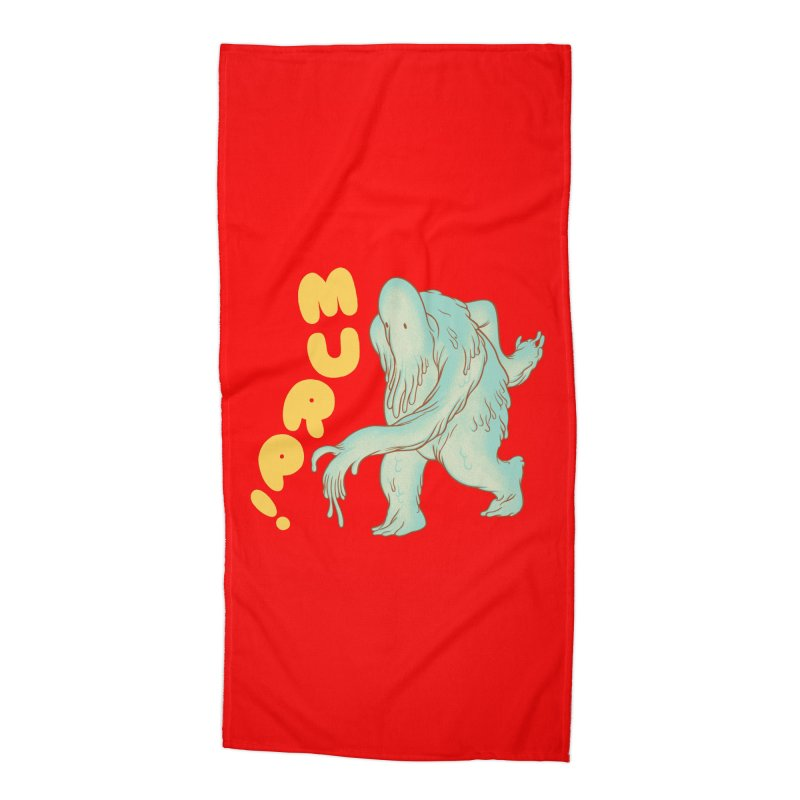 Murp! Accessories Beach Towel by forlornfunnies's haute couture
