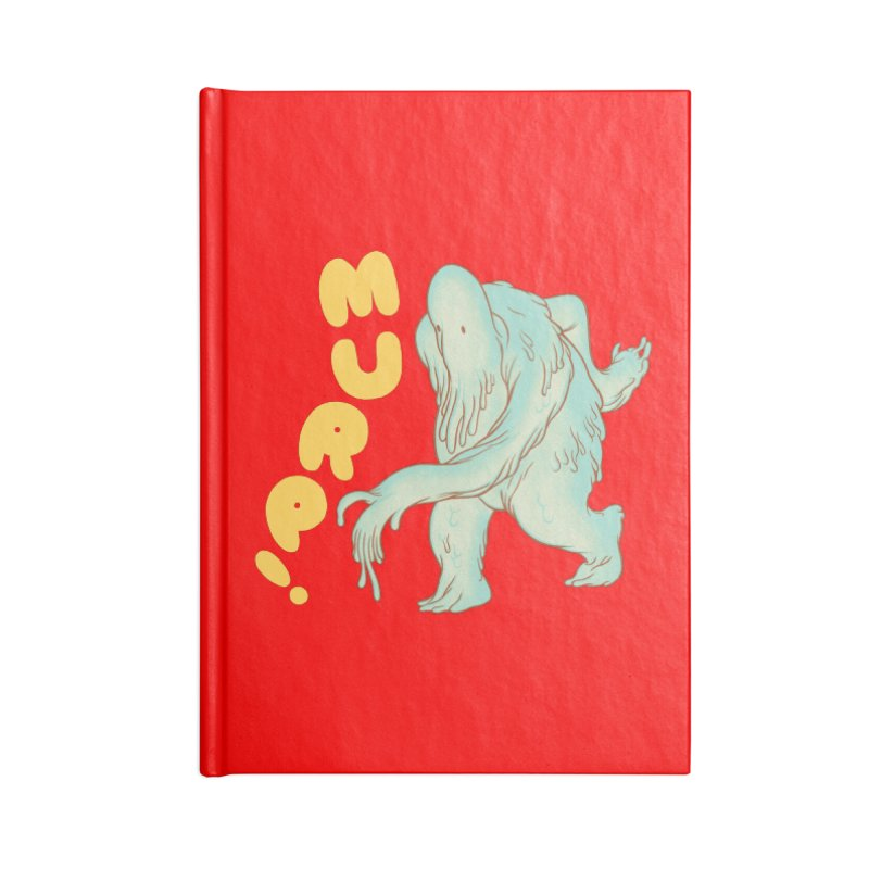 Murp! Accessories Blank Journal Notebook by forlornfunnies's haute couture