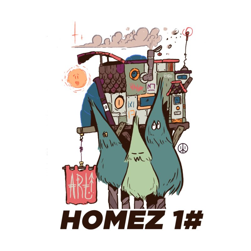 Forpe Goes Homez Men's T-Shirt by forpe's Artist Shop