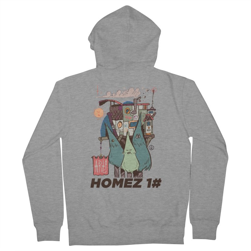 Forpe Goes Homez Women's French Terry Zip-Up Hoody by forpe's Artist Shop