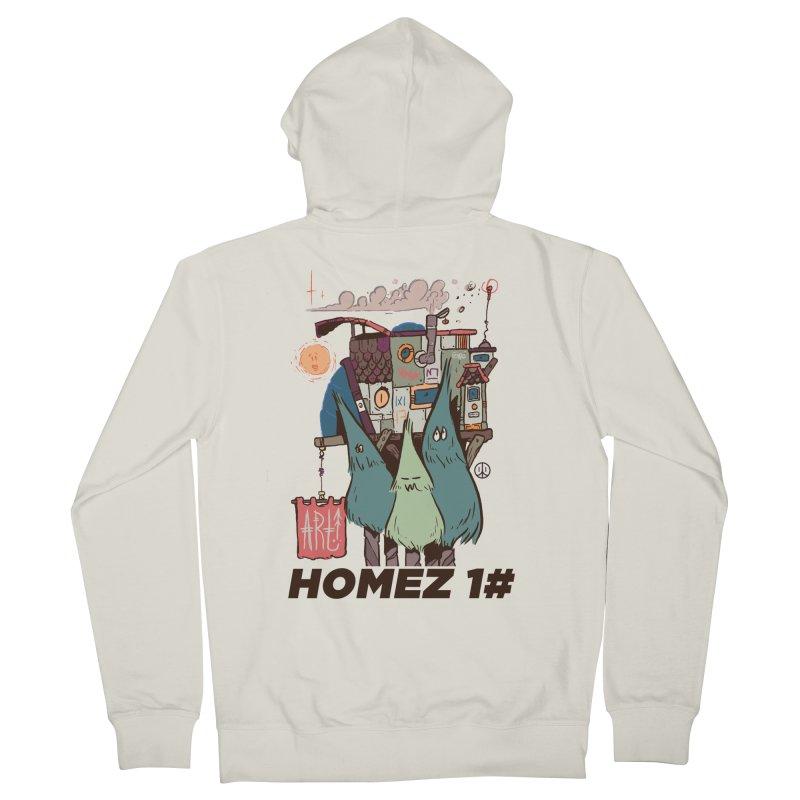Forpe Goes Homez Women's Zip-Up Hoody by forpe's Artist Shop