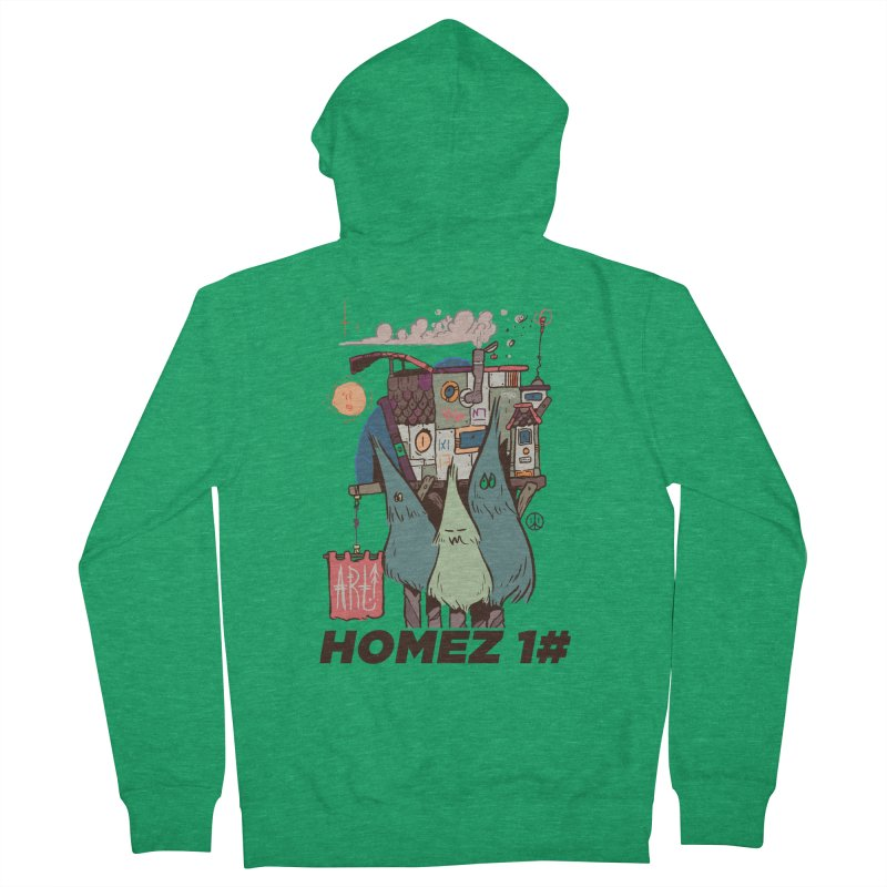 Forpe Goes Homez Men's French Terry Zip-Up Hoody by forpe's Artist Shop