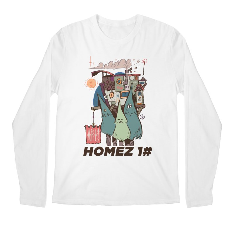 Forpe Goes Homez Men's Regular Longsleeve T-Shirt by forpe's Artist Shop