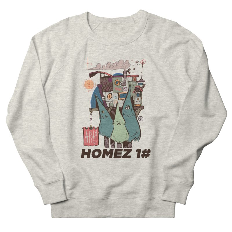 Forpe Goes Homez Men's French Terry Sweatshirt by forpe's Artist Shop