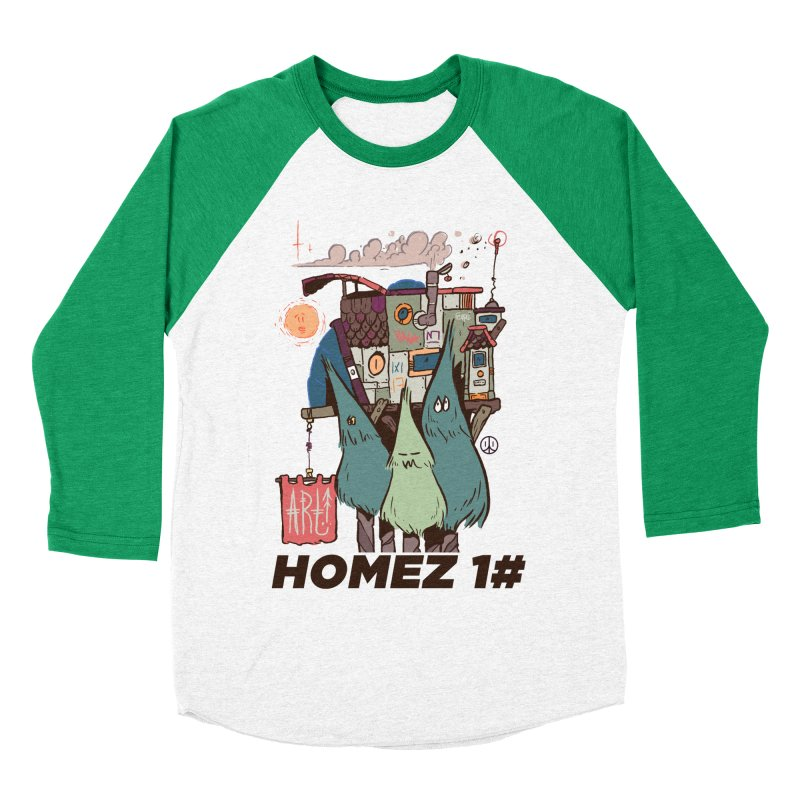 Forpe Goes Homez Women's Baseball Triblend T-Shirt by forpe's Artist Shop
