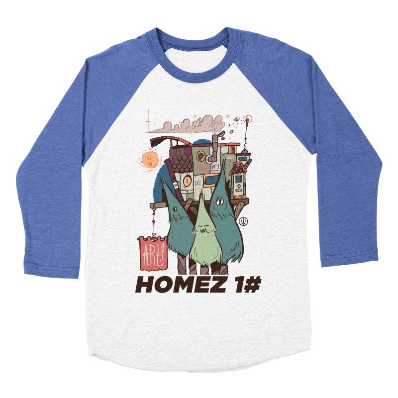 Forpe Goes Homez Men's Baseball Triblend T-Shirt by forpe's Artist Shop