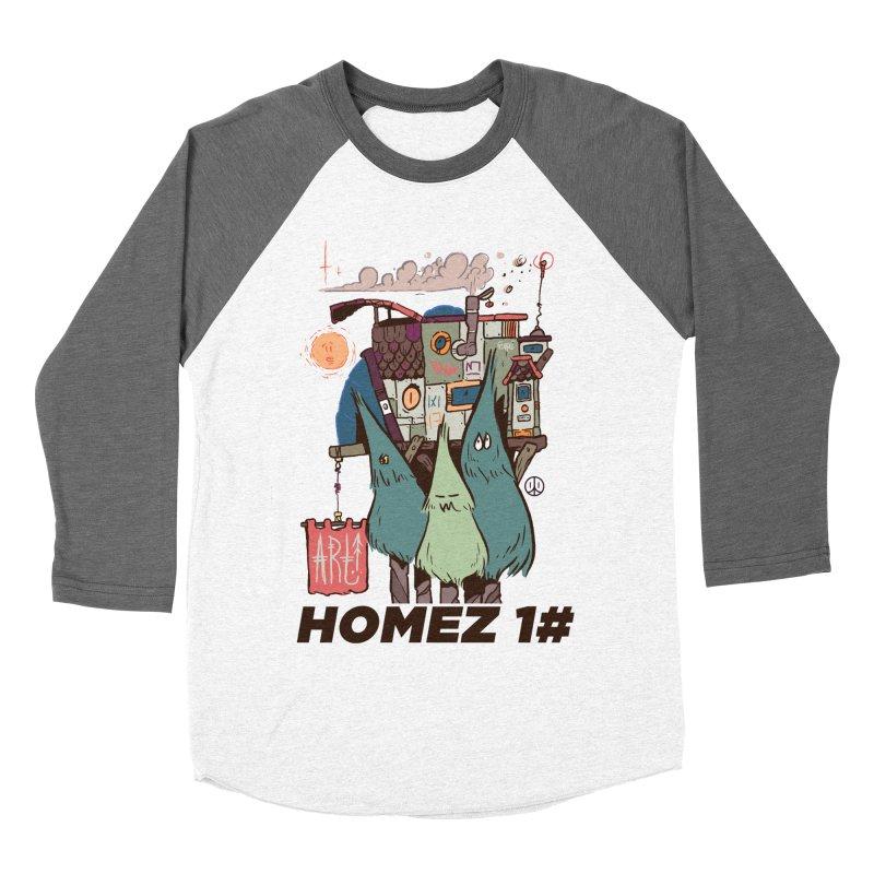 Forpe Goes Homez Men's Baseball Triblend Longsleeve T-Shirt by forpe's Artist Shop