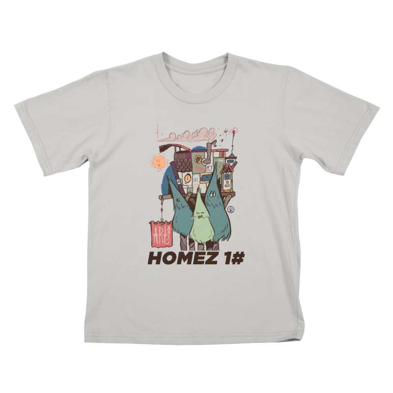Forpe Goes Homez Kids T-shirt by forpe's Artist Shop