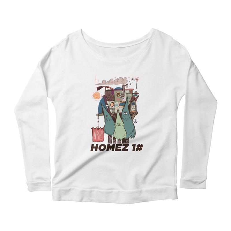 Forpe Goes Homez Women's Scoop Neck Longsleeve T-Shirt by forpe's Artist Shop
